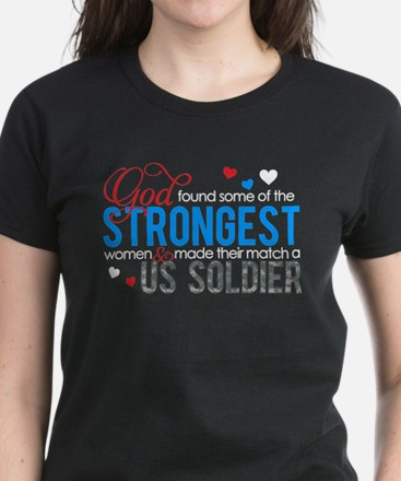 Strongest Women's Dark T-Shirt