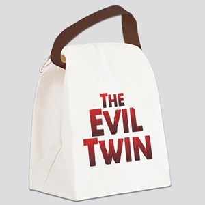 The Evil Twin Canvas Lunch Bag