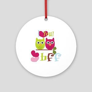 BFF Love Ornament (Round)