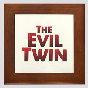 The Evil Twin Framed Tile