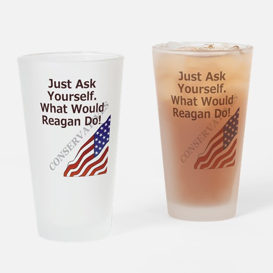 Conservative Mantra Drinking Glass
