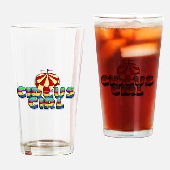 CPM Carnival Girl Drinking Glass
