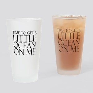 Ocean Time Drinking Glass
