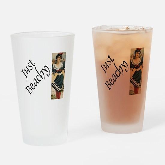 TEE Just Beachy Drinking Glass