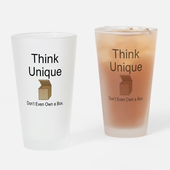 Think Unique Drinking Glass