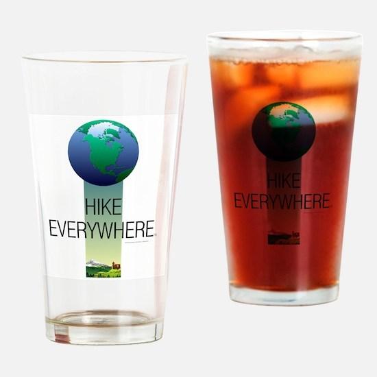 TOP Hike Everywhere Drinking Glass