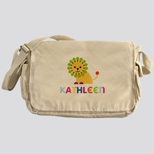 Kathleen the Lion Messenger Bag