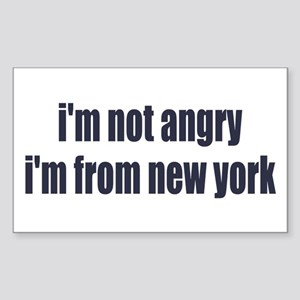 I'm from New York Sticker (Rectangle)