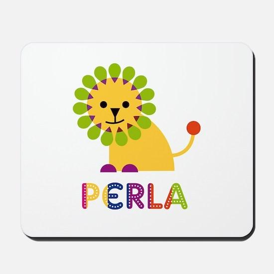 Perla the Lion Mousepad