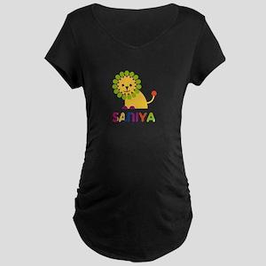 Saniya the Lion Maternity Dark T-Shirt