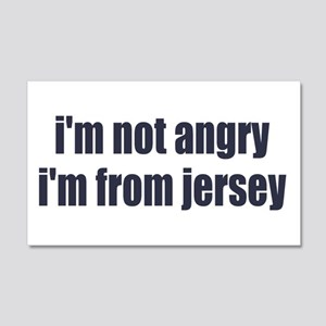 I'm from Jersey 22x14 Wall Peel