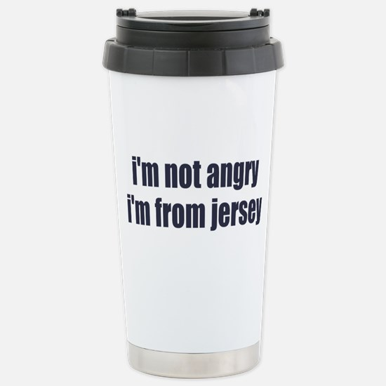 I'm from Jersey Stainless Steel Travel Mug