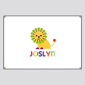 Joslyn the Lion Banner