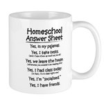 Homeschool Answers Mug