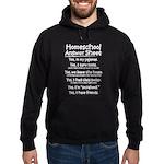 Homeschool Answers Hoodie (dark)