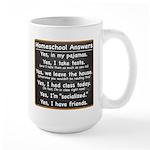 Homeschool Answers Large Mug
