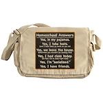 Homeschool Answers Messenger Bag