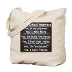 Homeschool Answers Tote Bag