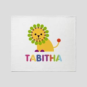Tabitha the Lion Throw Blanket