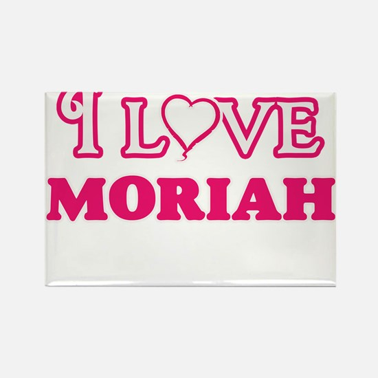 I Love Moriah Magnets