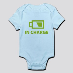IN CHARGE Infant Bodysuit