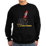 Actually, It Is Rocket Science Sweatshirt (dark)