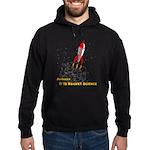 Actually, It Is Rocket Science Hoodie (dark)