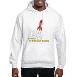 Actually, It Is Rocket Science Hooded Sweatshirt