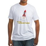 Actually, It Is Rocket Science Fitted T-Shirt