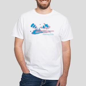 Happy Deutsch Clouds White T-Shirt