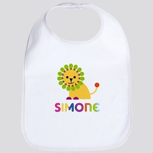 Simone the Lion Bib