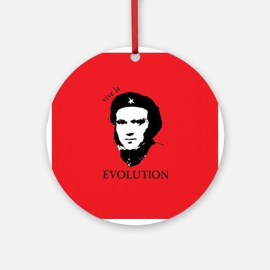 Red Darwin. Viva! Ornament (Round)