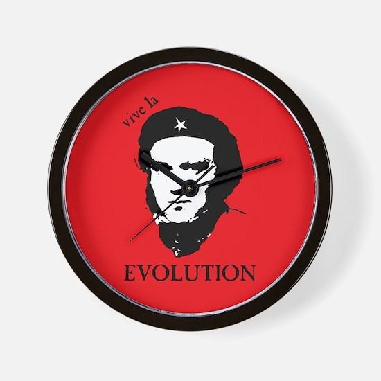 Red Darwin. Viva! Wall Clock