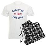 Addicted to Physics Men's Light Pajamas