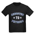 Addicted to Physics Kids Dark T-Shirt