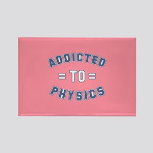 Addicted to Physics Rectangle Magnet