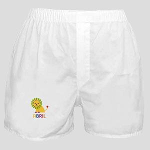 Abril the Lion Boxer Shorts