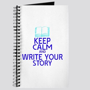 Keep Calm Write Story Journal