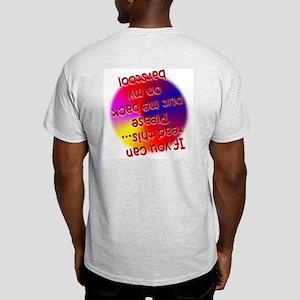 """Drunk"" Ash Grey T-Shirt"