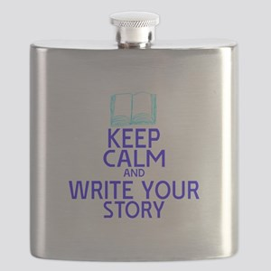 Keep Calm Write Story Flask