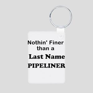Personalized Nothin Finer Aluminum Photo Keychain