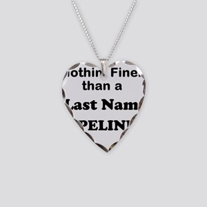 Personalized Nothin Finer Necklace Heart Charm