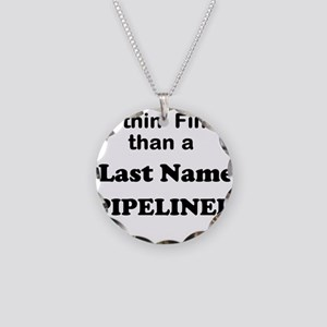 Personalized Nothin Finer Necklace Circle Charm