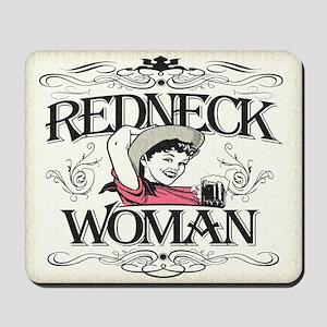 Redneck Woman Mousepad