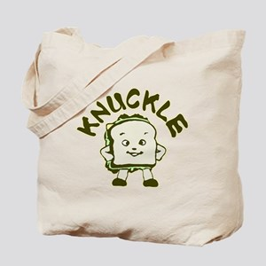 Funny Knuckle Sandwich Tote Bag
