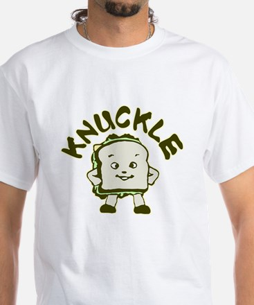 Funny Knuckle Sandwich White T-Shirt