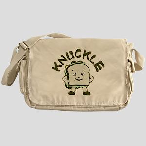 Funny Knuckle Sandwich Messenger Bag