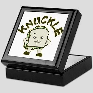 Funny Knuckle Sandwich Keepsake Box