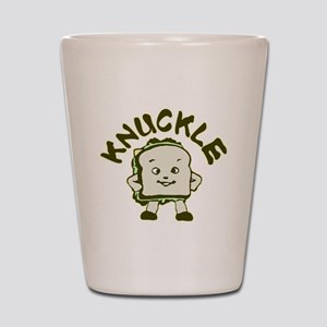 Funny Knuckle Sandwich Shot Glass