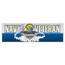 CVN-69 Persian Gulf Sticker (Bumper)